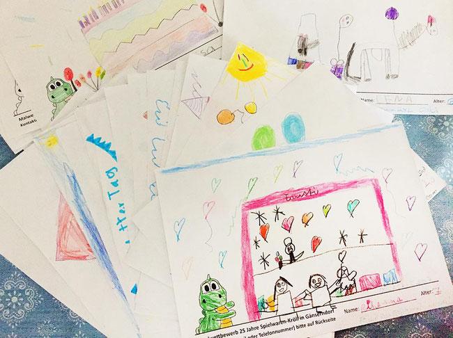 Internationaler Kindertag 2019, Kinderfest von Spielwaren-Kröll & Eissalon Fausti, Malwettbewerb