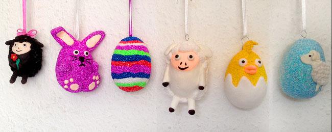 Wolkenschleim, FoamClay, Ostern, Easter