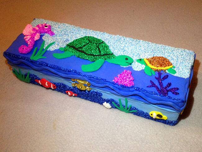 Spielwaren-Kroell, Wolkenschleim, Foam Clay, Silc Clay, Box, Turtle, Schildkröte, bastelideen