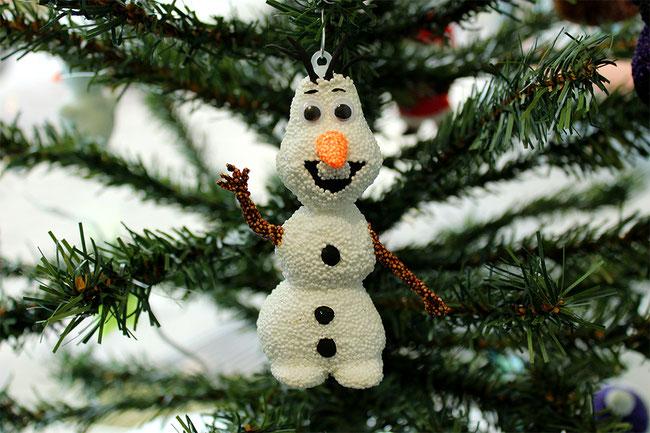 Spielwaren-Kroell, HAMA, FOAM CLAY, Wolkenschleim, basteln, Weihnachten, Xmas, Deko, DIY, Frozen, Olaf