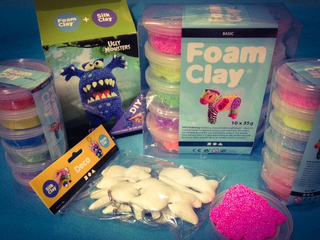 Foam Clay: verschiedene Sets