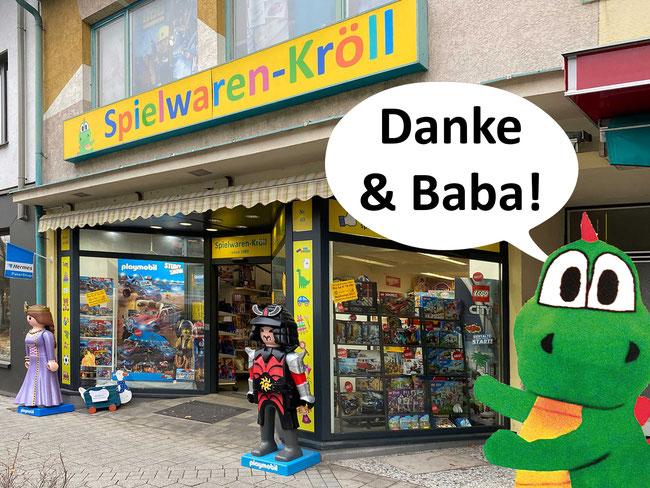 Spielwaren-Kröll, Bahnstraße 69, 2230 Gänserndorf, Außenansicht
