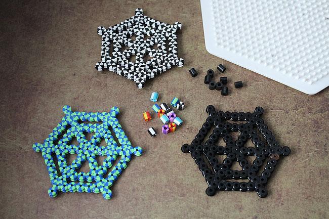 hama, bügelperlen, perler, iron beads, spielwaren-kroell, halloween, spider, spinnennetz