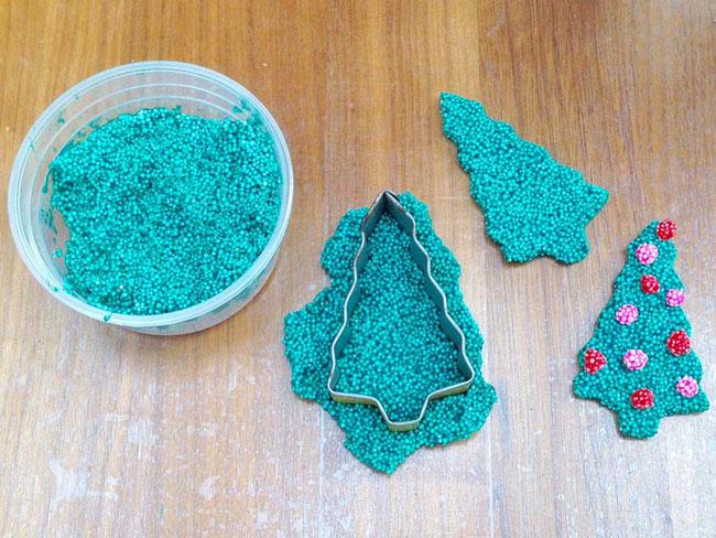 Spielwaren-Kröll, Foam Clay, Wolkenschleim, Weihnachten, Xmas, Keksausstecher