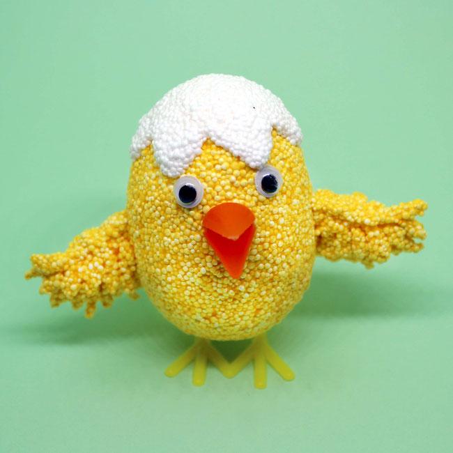 Spielwaren-Kroell, Foam Clay, Wolkenschleim, basteln, Bastelidee, DIY, Ostern, Easter