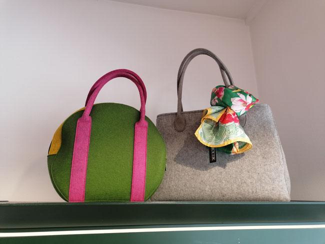 Filztaschen von der Chiemgau Factory