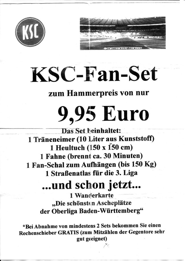 Neues KSC Fan-Set