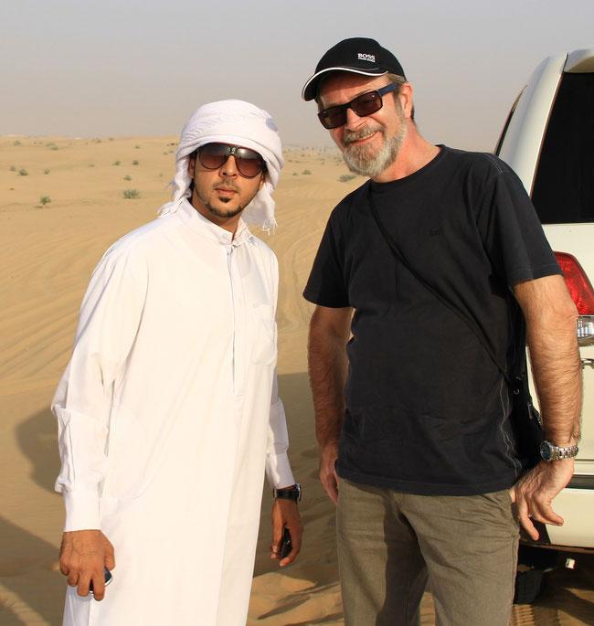 DUBAJ 2013 - z Abdulem na pustyni
