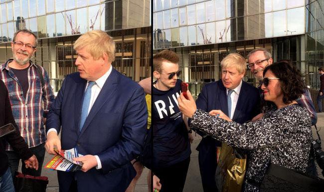 05.05.2016 Londyn - Minister Spraw Zagranicznych Wielkiej Brytanii - BORIS JOHNSON