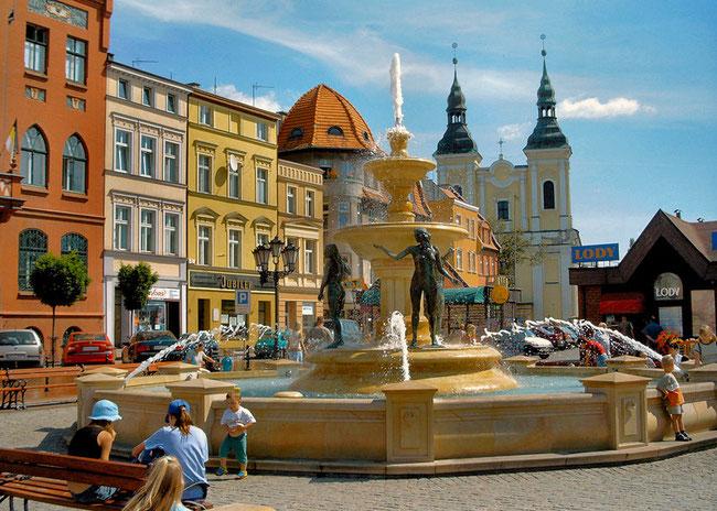 CHOJNICE - Stary Rynek