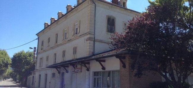 maison commune ancien hotel de la gare à Veynes