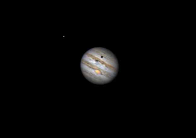 Jupiter mit GRF Ganimed und Schatten 29.04.2016