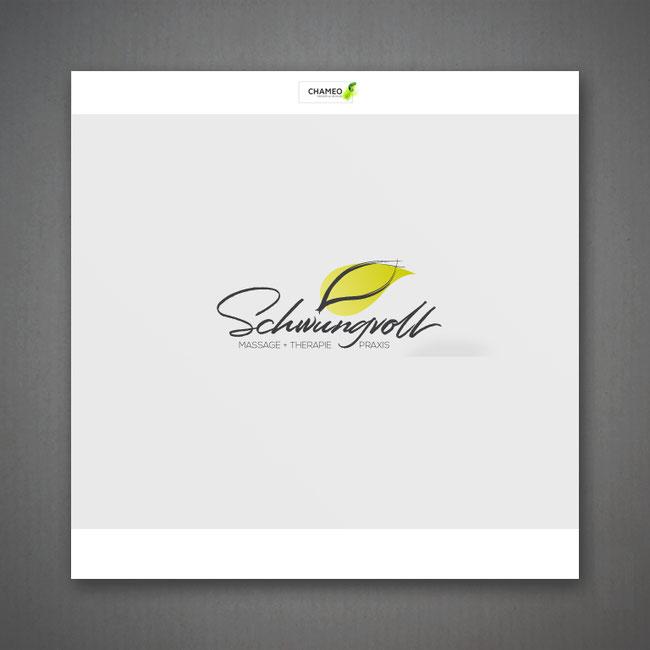 Logo design für Massage und Theraphie Praxis