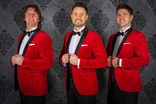 Die 3 Liköre - Frank, Daniel, Arvid (vlnr)
