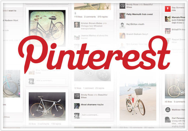 Pinterest button website