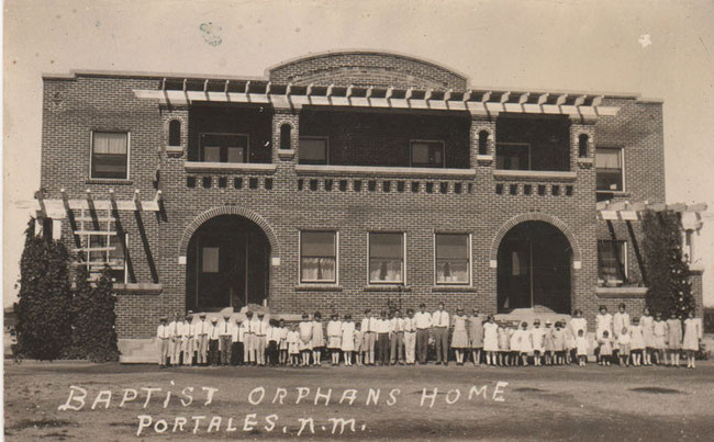 """The Old Red Brick """"Orphans Home"""""""