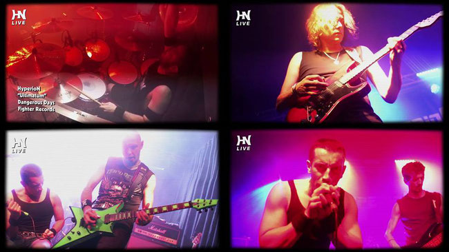 Hyperion, outgoing video clip of the song Ultimatum