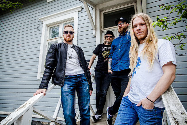 Finnish progressive roots rock band Laid Back Townies to release second album in December