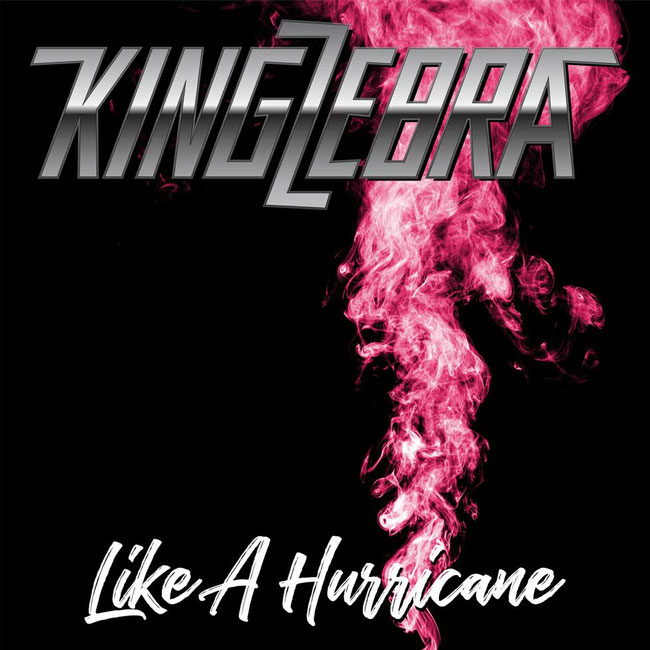 "King Zebra released ""Like A Hurricane"" featuring Eric St. Michaels (ex-China) on vocals"