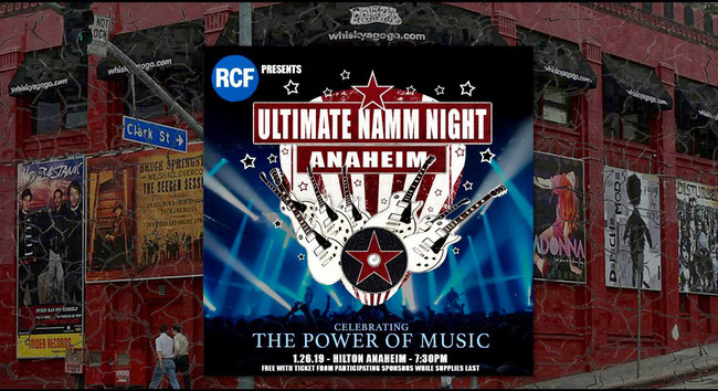 """Ultimate NAMM Night"" with Steve Vai, Fred Coury, Billy Sheehan and many other artists, rochersandotheranimals, rock news,"