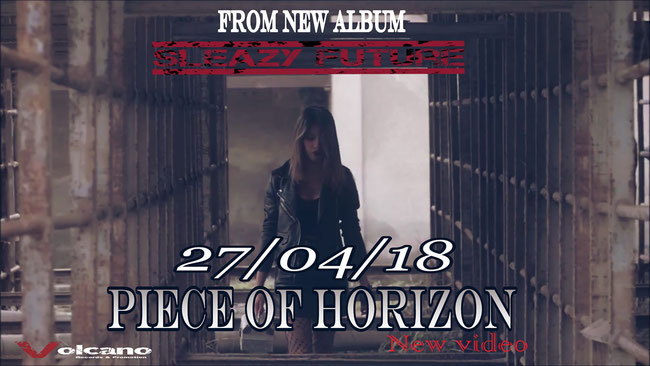 Tracy Grave, sleazy future, new album, new video, Piece of horizon,  hardr ocker, sleazy hard rock, volcano records