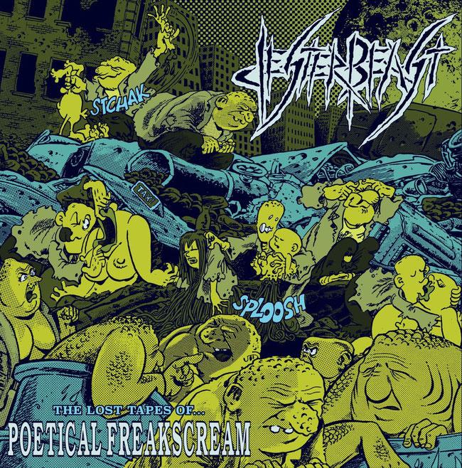 "Jester BeastOld school thrash metal""Poetical Freakscream""CC MuzNuclear Blast Records""Pleasures in Life""compilationLPF.O.A.D."