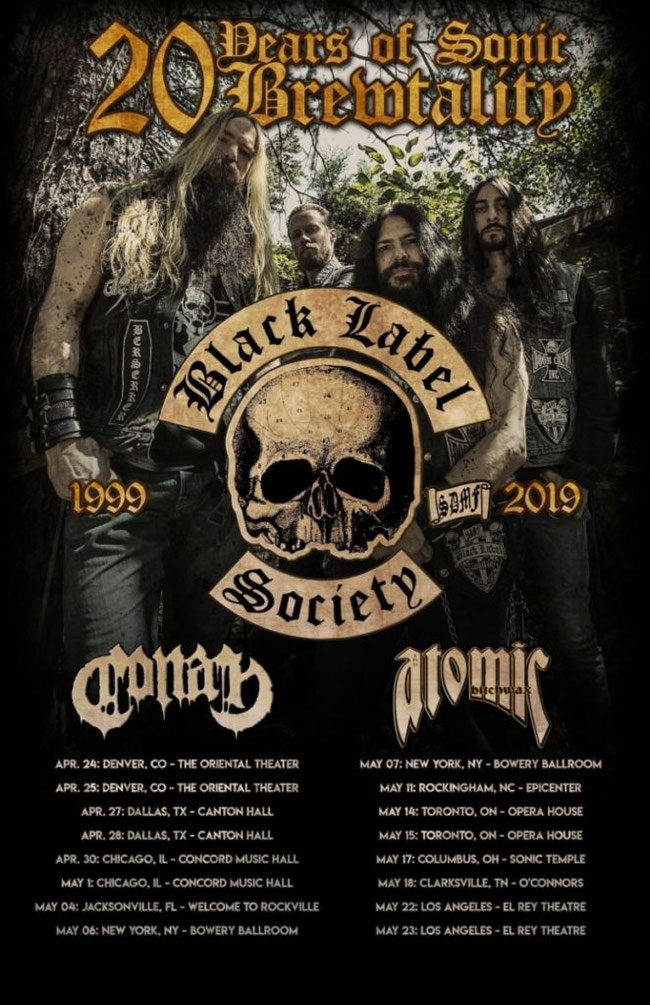 Spoke In The Wheel,  New Video, Black Label Society, Rockers And Other Animals,Entertainment One (eOne), Rock News, Rock Magazine, Rock Webzine,  Sonic Brew, Sonic Brew – 20th Anniversary Blend,   Tour