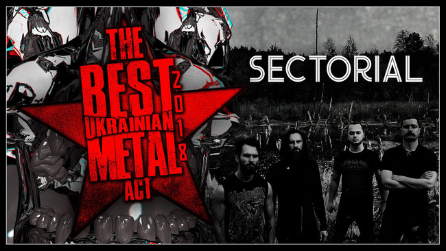 Sectorial Is Nominated For The Best Ukrainian Metal Act 2018