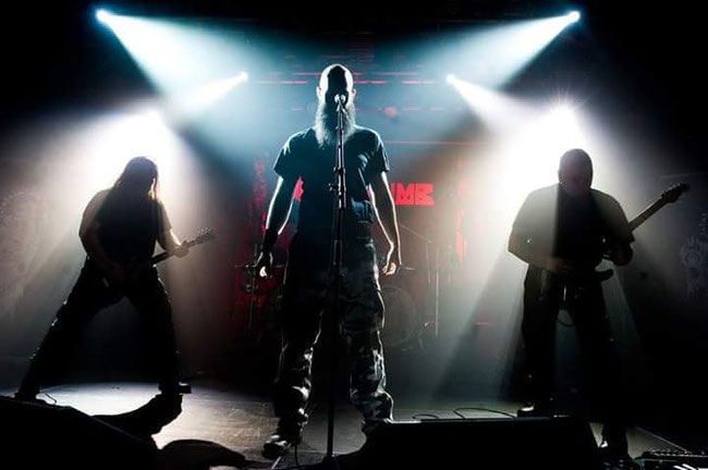 "Norwegian thrash metallers Mecalimb eelease the new single ""Downfall"""