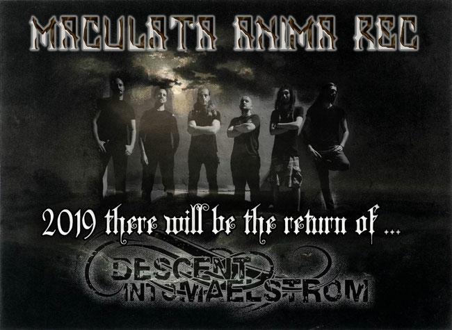 Descent Into Maelstrom a new album in 2019