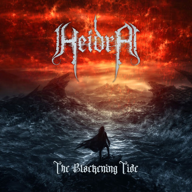 "Heidra: ""The Blackening Tide"" album by Danish epic melodic death metallers out now"
