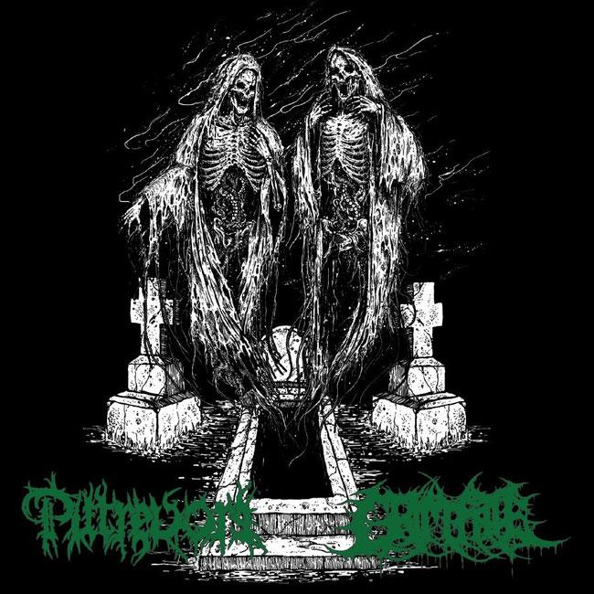 Putrevore, Grim Fatem, Split, death metal