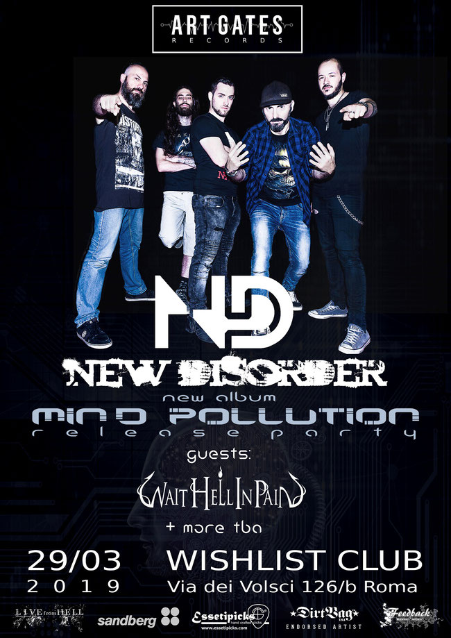 New Disorder, New Video, Release Party, Tour, Rockers And Other Animals, Rock News, Rock Magazine, Rock Webzine
