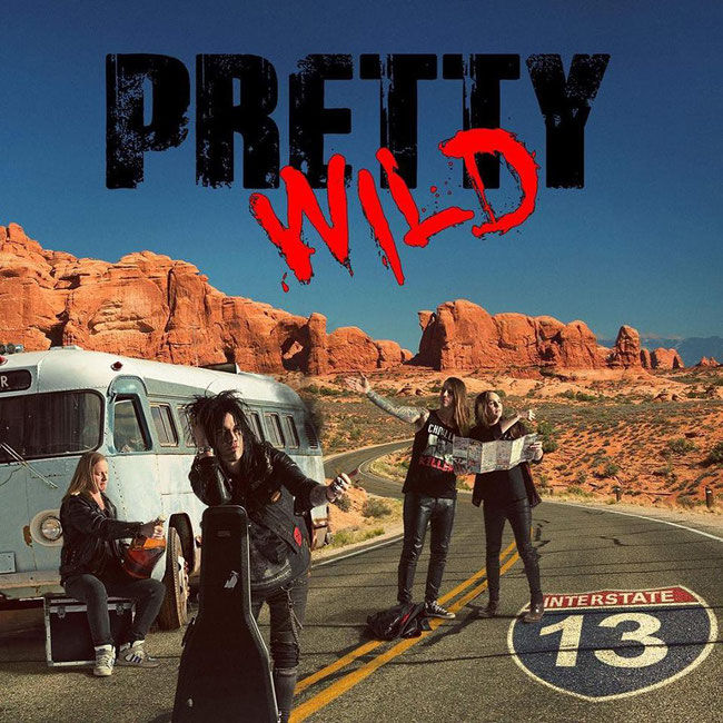 Pretty Wild,  new album, Interstate 13, sleaze rock, Rockers And Other Animals, Rock News, Rock Magazine, Rock Webzine