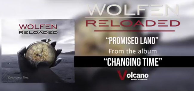 The Germans Wolfen Reloaded anticipate the new record with Promised Land