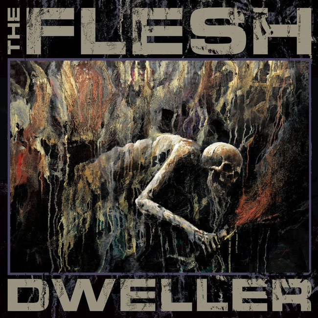 "THE FLESH,""Dweller, tracklist, artwork, mattias frisk"