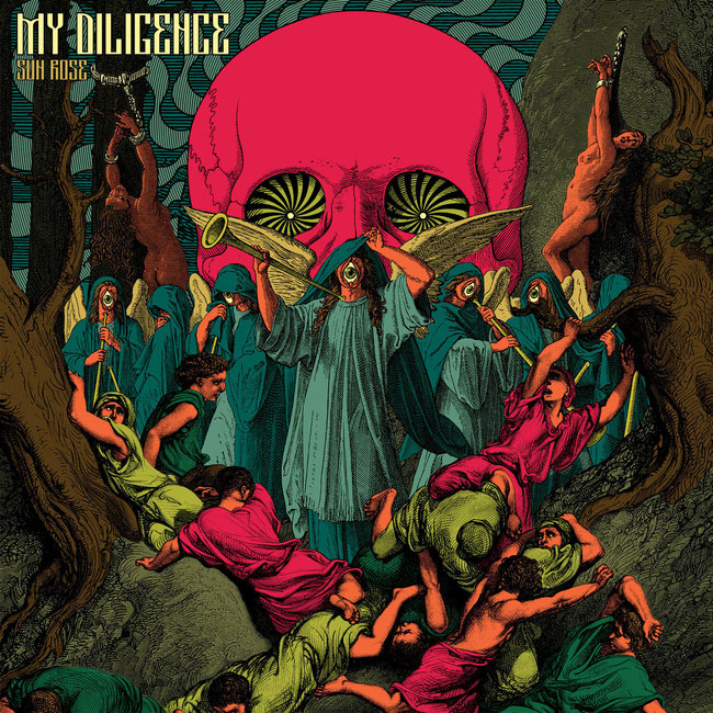 Belgian heavy-psych/stoner/rockers My Diligence streamed brand new album 'Sun Rose', rockers and other animals, rock magazine, rock news