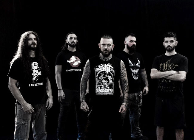 Coffin Birth: Mediterranean death metallers release 3rd new track of forthcoming album - featuringmembers of Hour Of Penance, Fleshgod Apocalypse