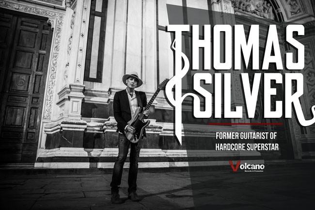 New album after the summer for Thomas Silver, former Hardcore Superstar