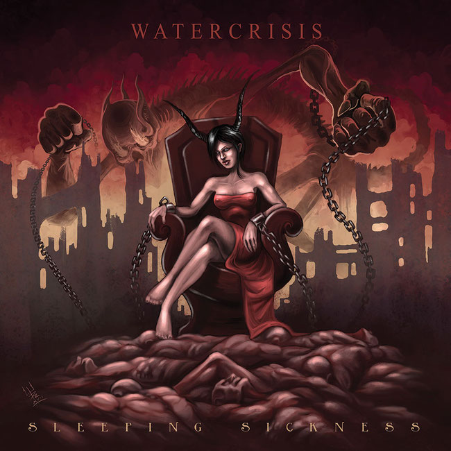 "Announcement of ""Sleeping Sickness"", the new album of WaterCrisis"