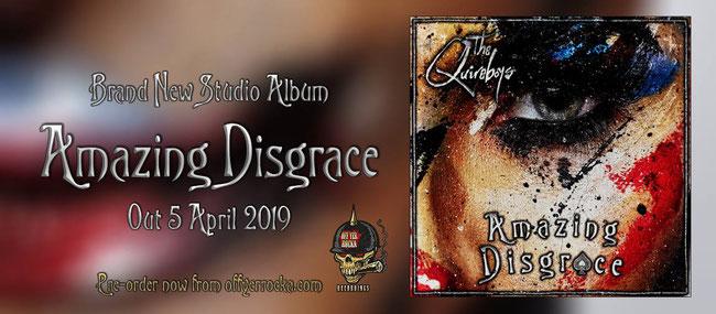 The Quireboys, Amazing Disgrace, new album,  Rockers And Other Animals, Rock News, Rock Magazine, Rock Webzine