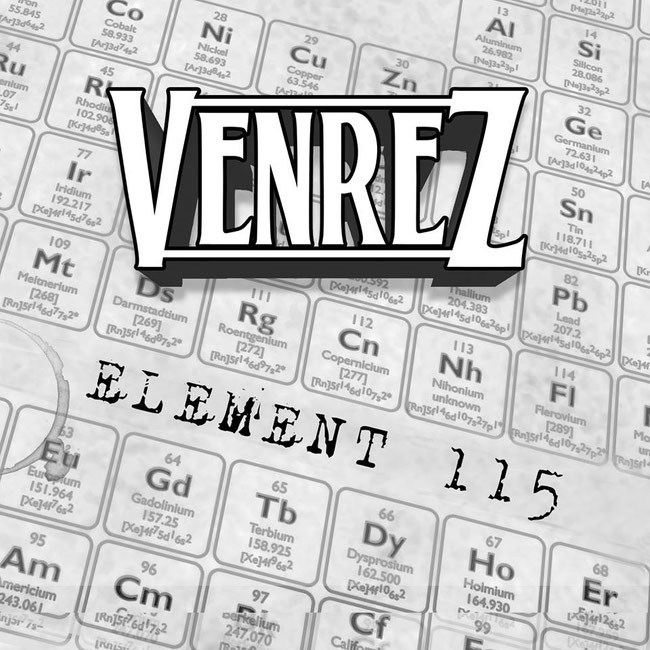 Venrez, Element 115, Alternative Rock, new album,