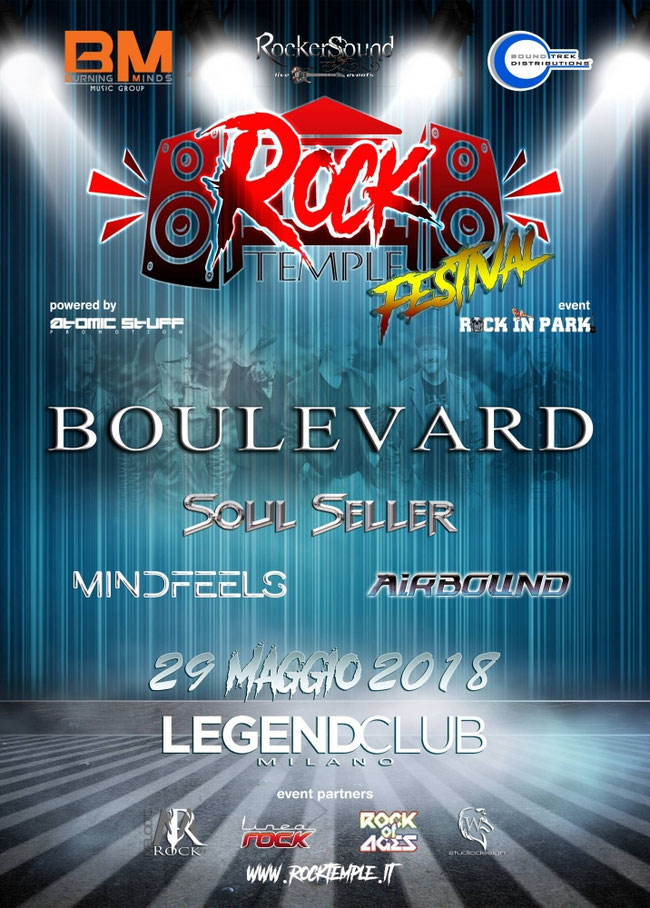 ROCK TEMPLE FESTIVAL, atomic stuff, rocker spund agency, burning minds music group, legend club, airbound, soul seller, boulevard, mindfeels