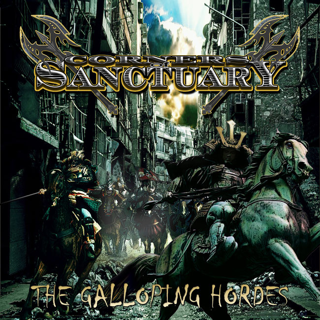 Corners of Sanctuary Roll Out The Galloping Hordes on CD