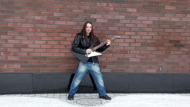 SanttuNiemelä, new album, Road To Hell, Flying Camel Studio, Power, Progressive Metal
