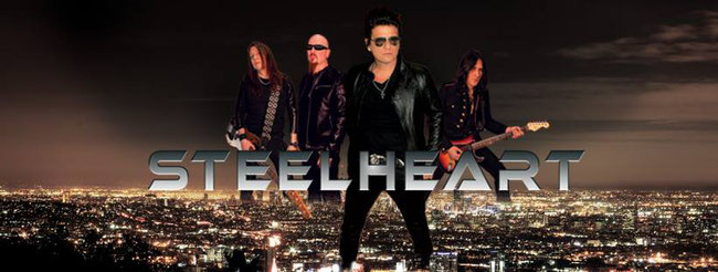 """SteelHeart release """"I'll Never Let You Go"""" live video from upcoming CD/DVD 'Rock'n Milan'"""