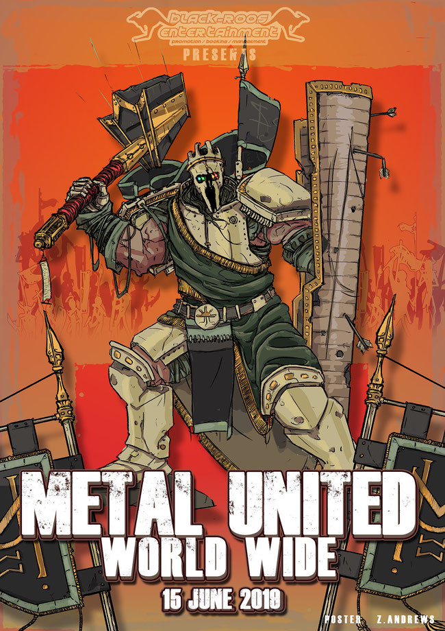 Metal United World Wide, Metal, rockers and other animals, rock news, rock magazine, rock webzine, Black-Roos Entertainment