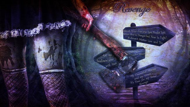 "Mandragora Scream, the new single ""Revenge"" is now available"