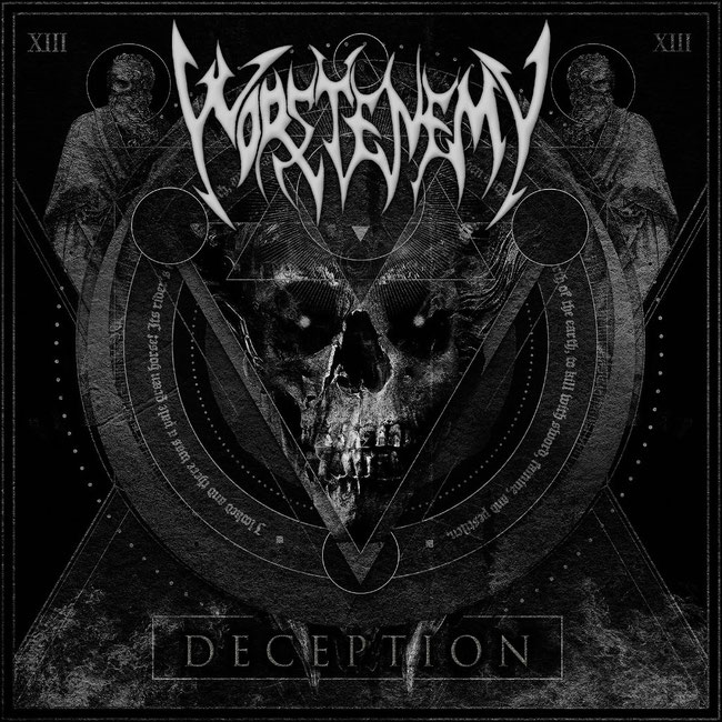 Worstenemy, Seasons Of War, Official Lyric Video, Deception, album, artwork