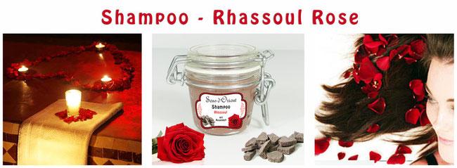 Naturkosmetik Rhassoul Rassoul Ghassoul Shampoo Rosen Sens du Sud